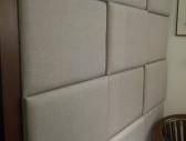 Ściana tapicerowana 3D