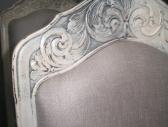 Krzesła bielone