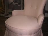 Fotel beżowy